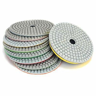 """5/"""" Diamond 12 Polishing Pad Aluminum Back Granite Stone Concrete Tile Countertop"""
