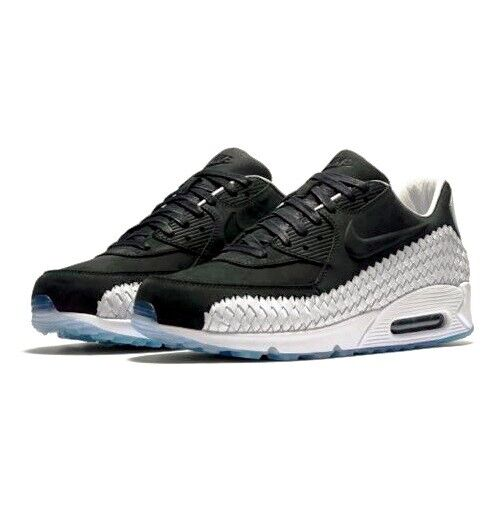 Size 8 - Nike Air Max 90 Woven Black White for sale online   eBay