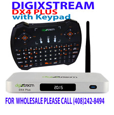 DIGIXSTREAM DX4 plus-with Keypad  --- WE SHIP PRIORITY YOU  RECEIVE IN 2 DAYS