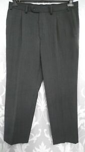 Mens-Grey-Tailored-Trousers-from-Marks-and-Spencers-W36-034-L29-034