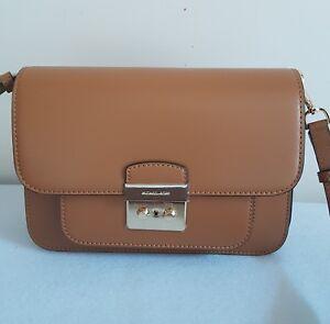 724c8da2cb0d66 AUTH MICHAEL KORS Sloan Editor Acorn Luggage Large Leather Shoulder ...