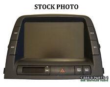 04-09 TOYOTA PRIUS MFD GPS DISPLAY SCREEN 86110-47081 w/o BACKUP CAMERA S419C41