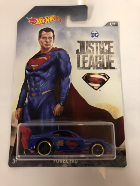 Hot Wheels Justice League Power Pro DWD02 New