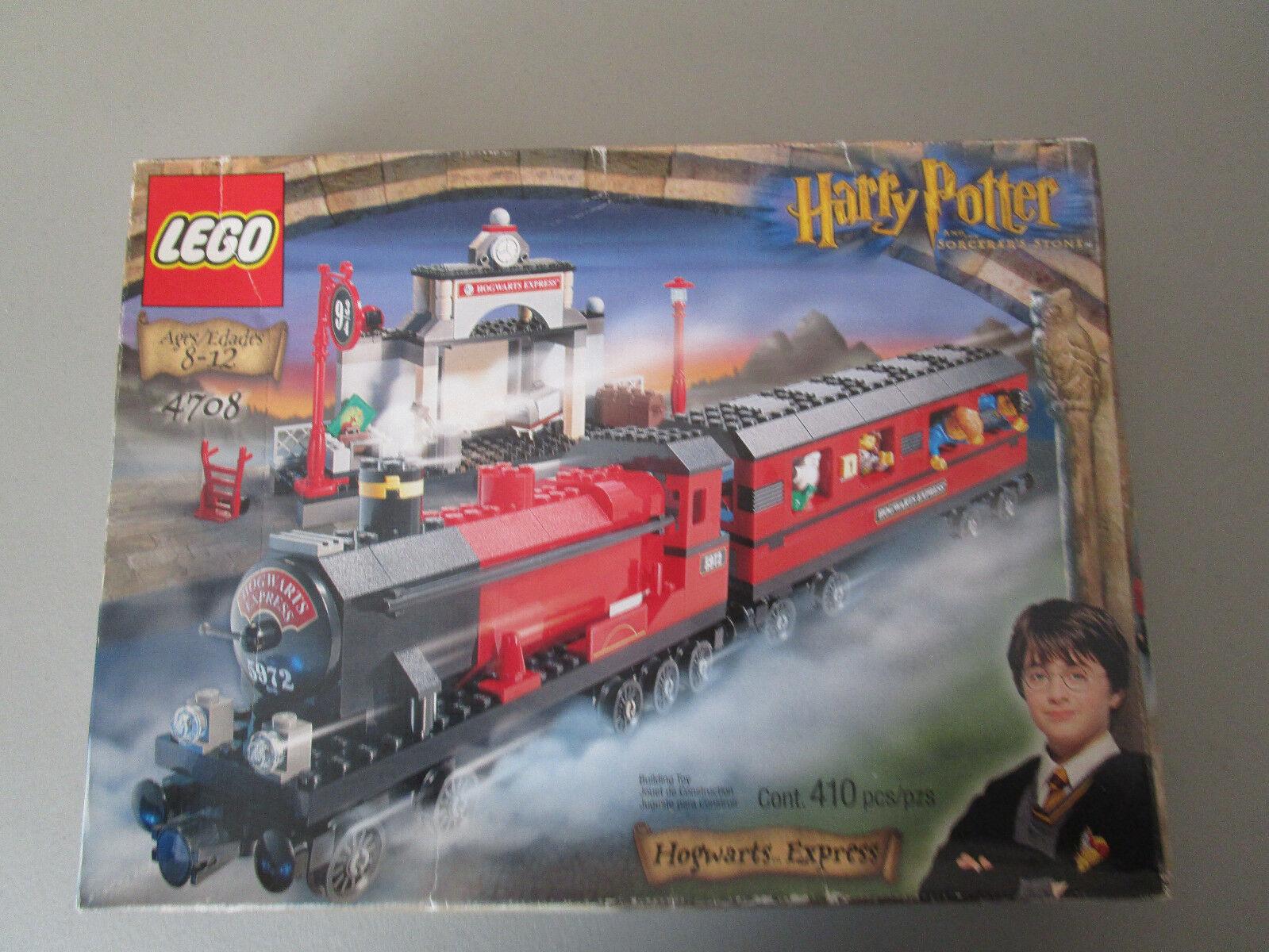 Lego Harry Potter 4708 Hogwarts tren expreso completo en una caja de sello de fábrica