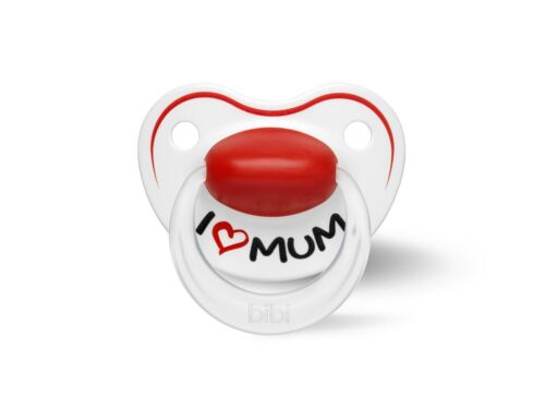 Bibi Happiness Schnuller I Love Mum und My Dad is the Best Mama Papa