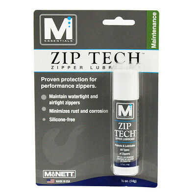 McNett M Essentials Zip Tech Performance Zipper Maintenance Lubricant