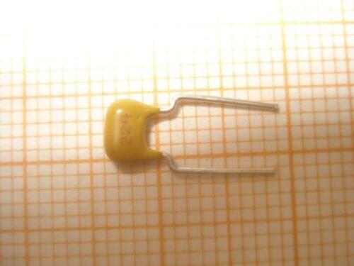 3 Stück Keramik Vielschicht Kondensator 220nF X7R 100V RM5,08 10/%