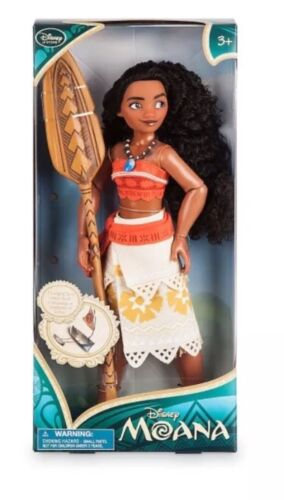 "Moana 11"" Classic Princess Doll Collection Disney store Exclusive NEW 2016 Movie"