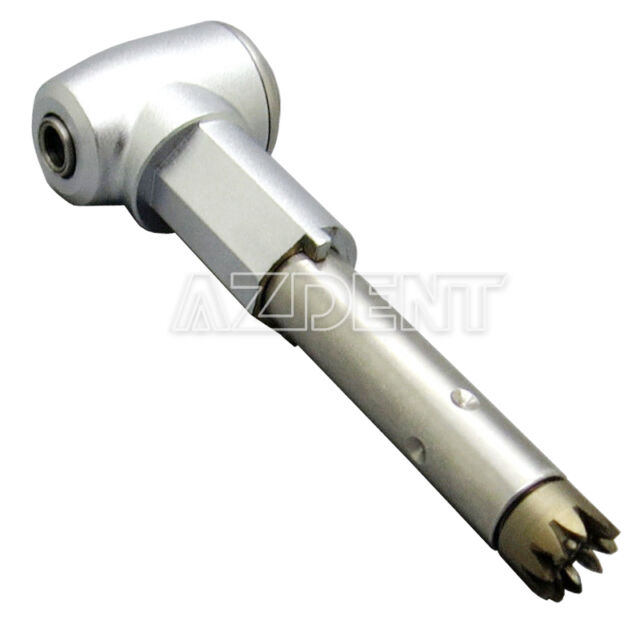 Dental Inner Channel Contra Angle Head Push Button Fit KAVO Handpiece
