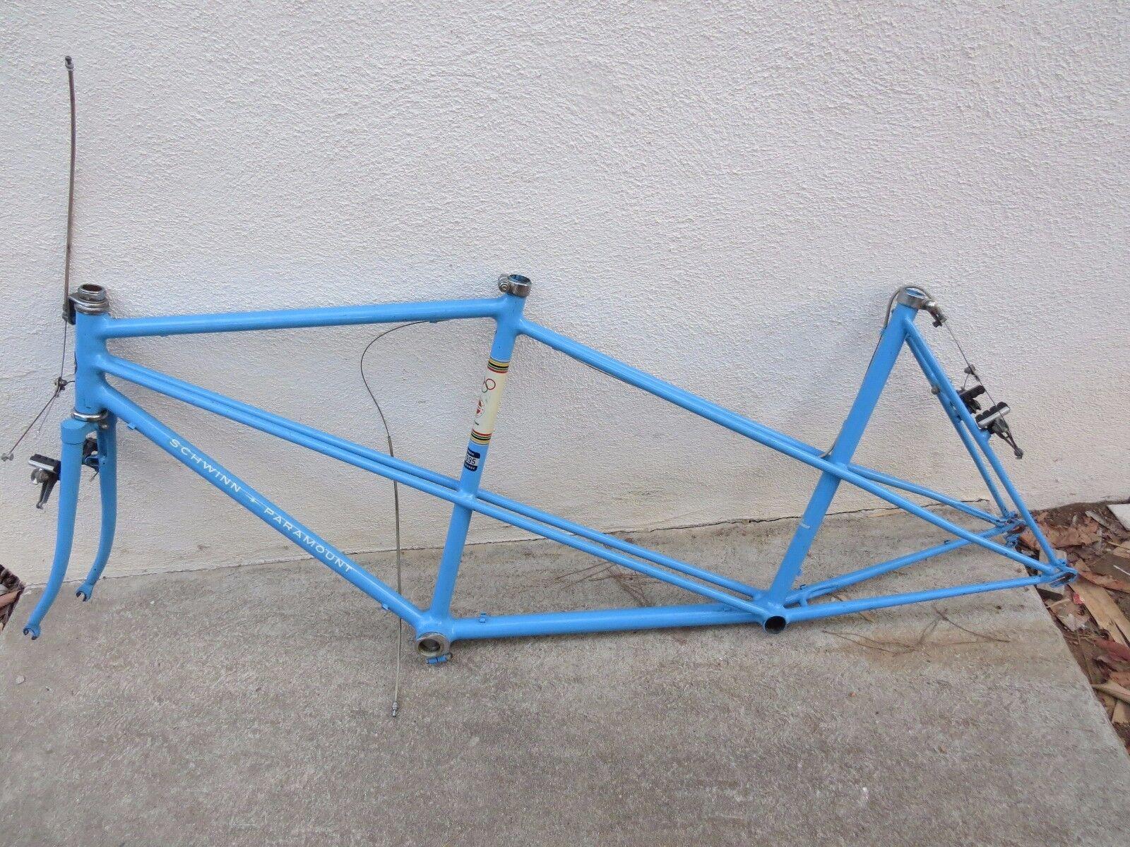 1972 SCHWINN  57 cm  56 cm rear PARAMOUNT FRAME FORK ROAD BICYCLE TANDEM VINTAGE  best price