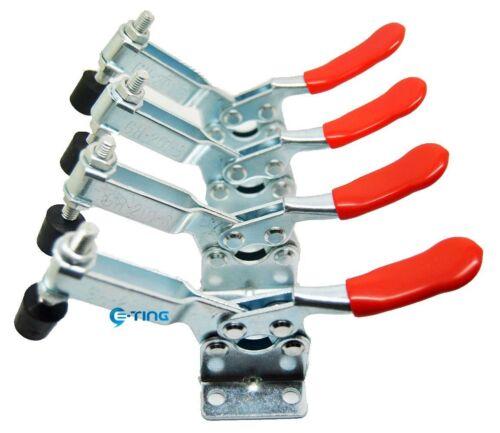4 ST Handgerät Neu Tool Toggle Clamp 201-B horizontale Clamp Schnellverschluss