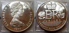 Cook Island 1977 25 Dollar, Gem Proof, Cameo, Low Mintage