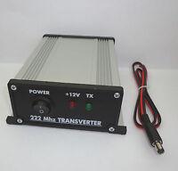 222 to 28 MHz ASSEMBLED TRANSVERTER 1.25meters 222mhz 220 VHF UHF Ham Radio