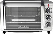 Superior BLACK+DECKER 6 Slice Convection Countertop Toaster Oven Silver TO3000G, No  Tax