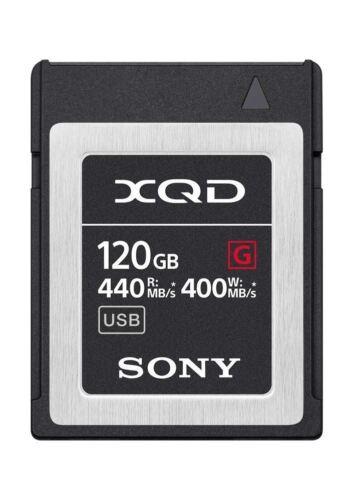 Genuine Sony G Series Tough 120GB XQD Card 5X Stronger 440MB//s UK Seller
