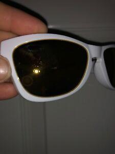 c64ae8f8bfd5b Image is loading Oakley-Jupiter-Squared-White-Frame-Sunglasses-GOLD-LENS-