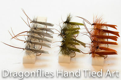18 Competition WTD Czech Nymphs Olive Orange Olive pink,Black Brown fly fishing