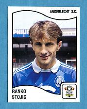 FOOTBALL 90 BELGIO Panini - Figurina-Sticker n. 7 - R. STOJIC - ANDERLECHT -New