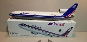 FLIGHT-MINATURE-AIR-TRANSAT-L-1011-1-250-SCALE-PLASTIC-SNAPFIT-MODEL