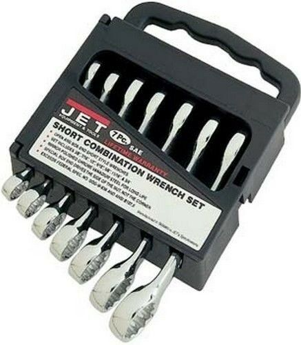 7pc Combination Wrench Set MM 10-19 mm Short Style