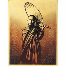 Shepard Faiey - Obey Giant - Burmese Monk - S/N - 2009 - Rare Street Art