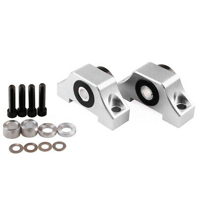 92-00 Honda Civic EG EK JDM B D Series Engine Motor Torque Mount Kit Silver