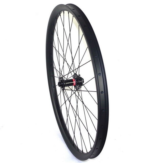 29ER carbon mountain bike Front wheel for MTB AM  XC riding 40mm wide carbon rim  stadium giveaways