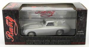 Bang-Modelos-1-43-Escala-Modelo-de-Coche-7210-1952-Mercedes-300-SL-COUPE-Gris-Metalizado