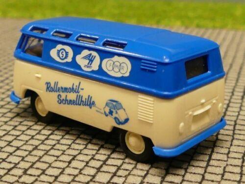 1//87 Brekina # 1450 VW T1 b Samba Kasten Rollermobil 32594