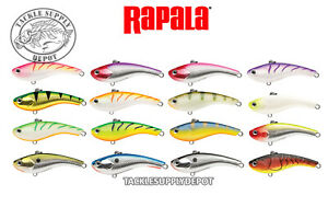 Rapala-Slab-Rap-05-Jigging-Ice-Fishing-Panfish-Trout-Bass-2in-1-4oz-Pick-NEW