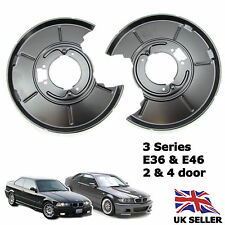 BMW 3 SERIES E36 E46 REAR BRAKE DISCS PLATE COVER LEFT & RIGHT SHIELD HANDBRAKE
