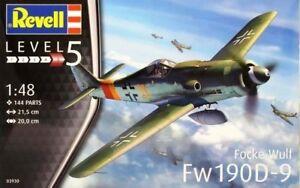 Revell 1:48 Focke Wulf Fw 190D-9 AIRCRAFT MODEL KIT