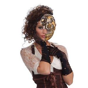 Copieux Steampunk Demi-masque, Déguisement-afficher Le Titre D'origine Pour Revigorer Efficacement La Santé