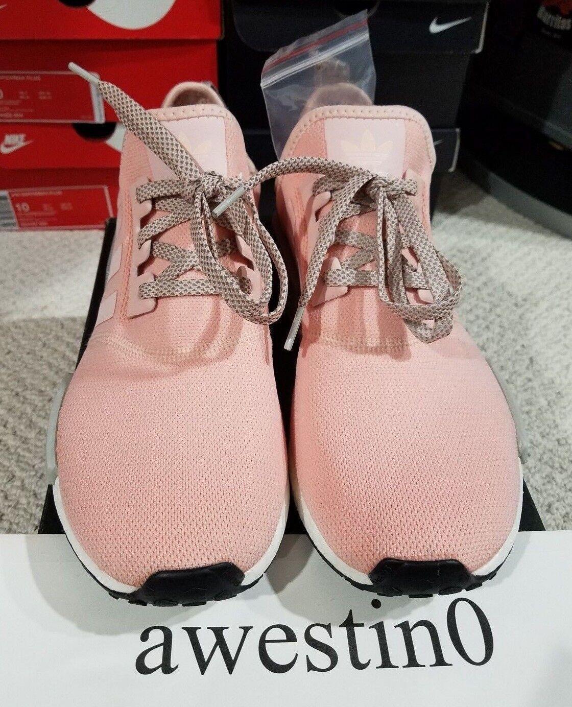 Womens Adidas Nmd R1 Runner Grey Vapour Pink Light Onix Offspring