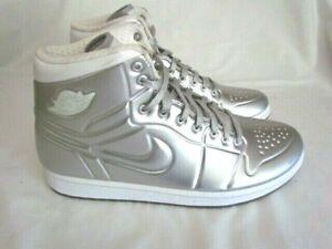 wholesale dealer 0007c 2d8ca Image is loading Nike-Air-Jordan-1-Anodized-Silver-414823-001-