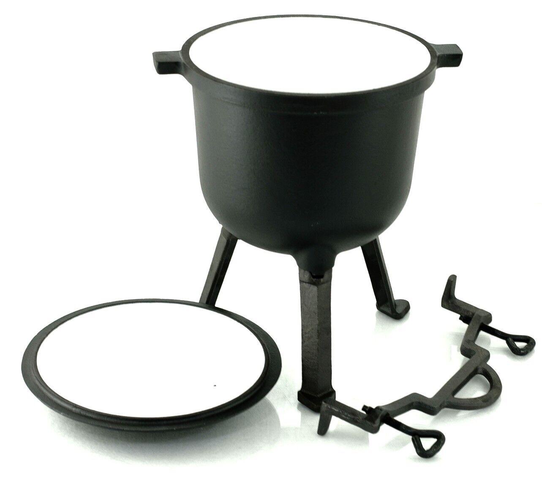 Fonte Marmite chaudron chasseurs Pot - 8 L-Rossner
