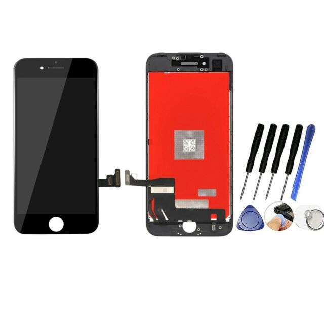 For iPhone 7  LCD Screen Digitizer Touch Display Assembly Replacement Black zoe
