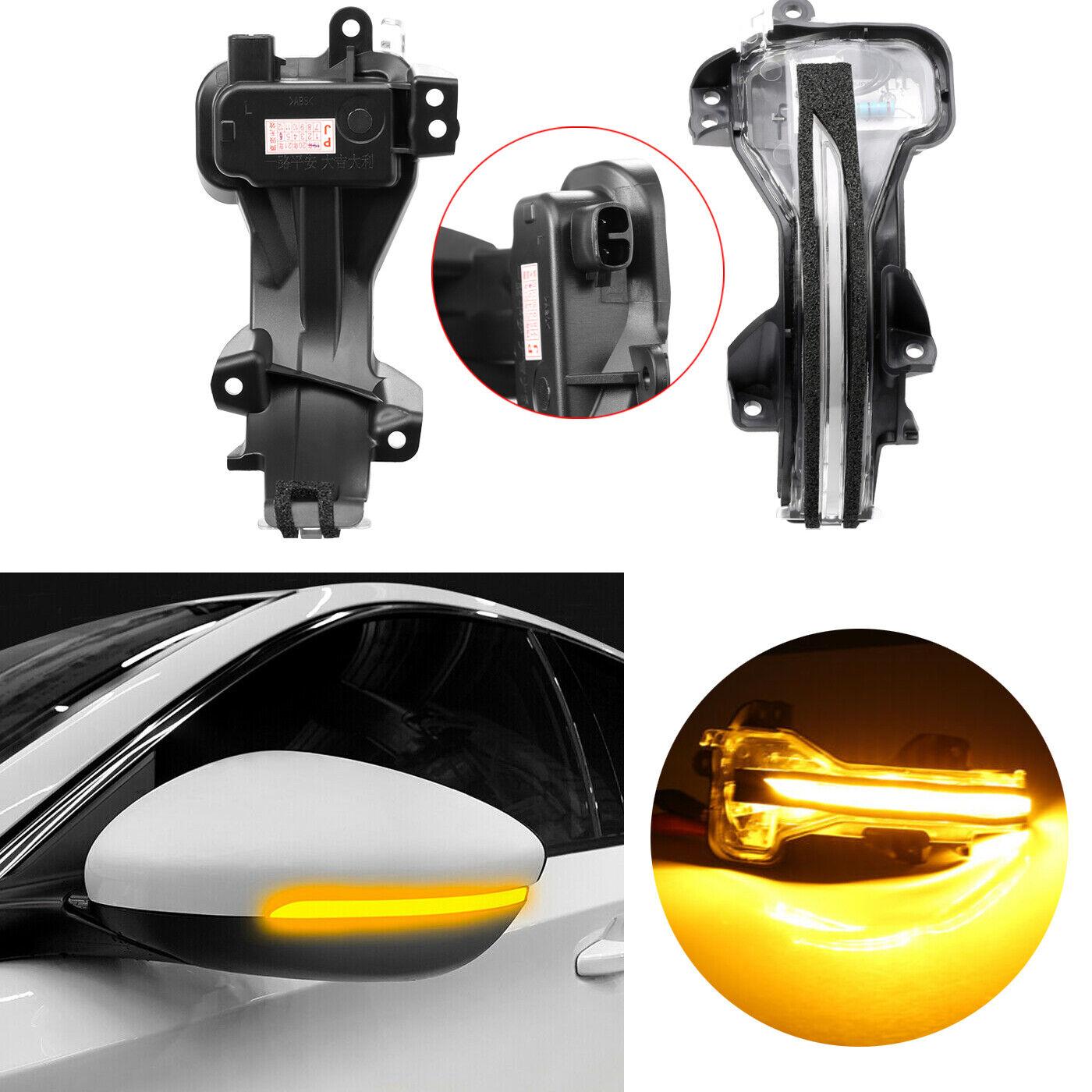 Left Hand Side Mirror Lamp Indicator Turn Signal Light Fit Kia Forte 2014-2018