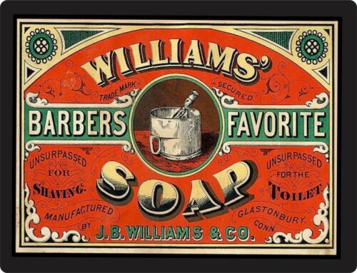 old advertisement WILLIAMS SOAP Vintage Advertisement retro style home decor