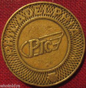 PA750AR Philadelphia, Pennsylvania transit token PTC