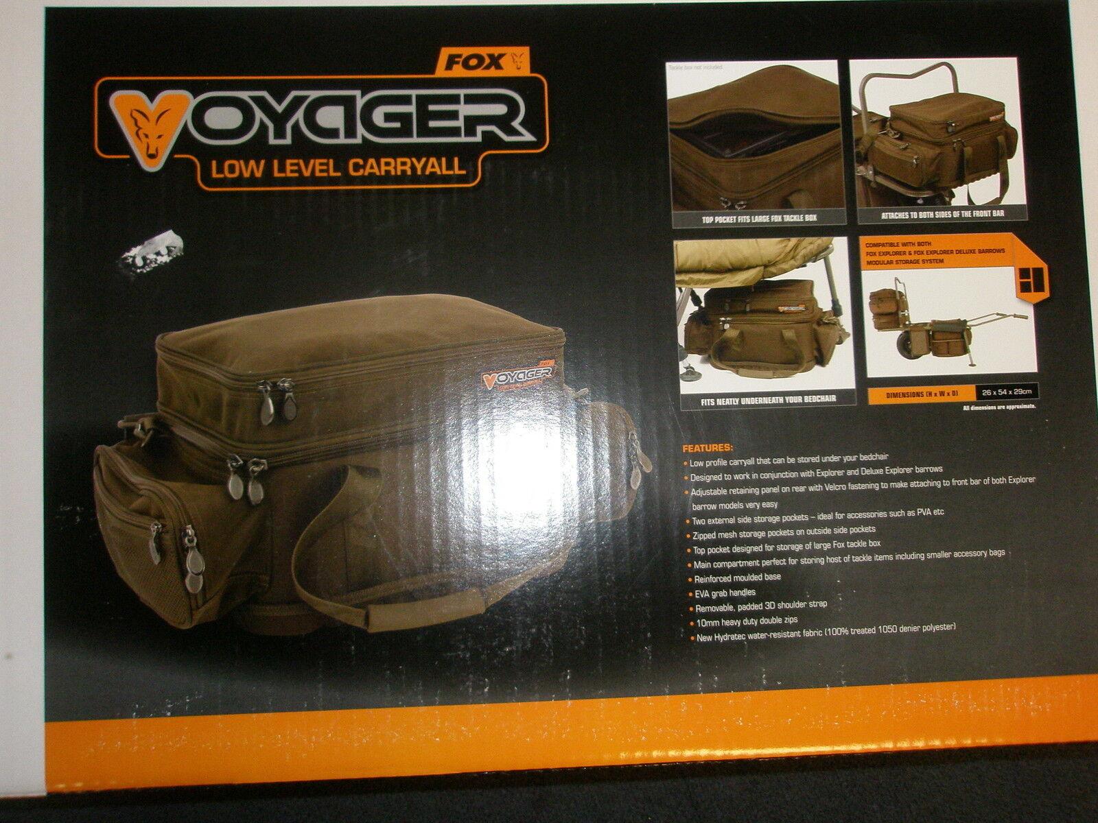 Fox  Voyager bajo nivel Cocheryall Aparejos de Pesca de Cochepa  Envío y cambio gratis.