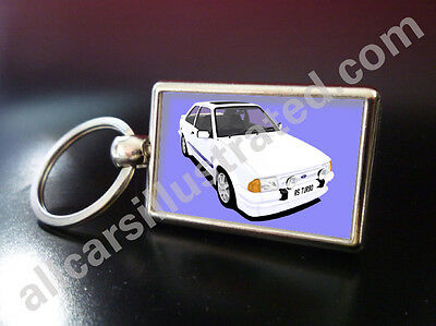 FREE UK POST ! FORD ESCORT MEXICO BADGE KEY RING