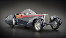 CMC M-135 Bugatti 57 SC Corsica Roadster, 1938 Red Stripes Edition 300 pcs, 1:18