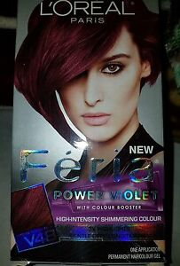 Image Is Loading L 039 Oreal Paris Feria Permanent Hair Color
