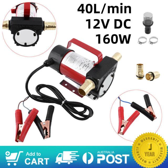 12V 45L/min Electric Kerosene Transfer Fuel Pump Portable Diesel Extractor Car