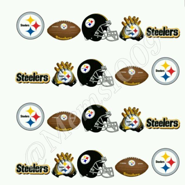 Nfl Pittsburgh Steelers Nail Art Water Decals Ebay