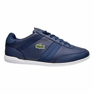 3e76b8274a0c6 Image is loading Lacoste-Giron-Men-039-s-Leather-Low-Top-