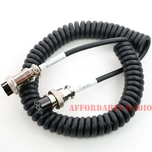 kenwood mc 60 mc 90 microphone cable fit to yaesu ft 1000. Black Bedroom Furniture Sets. Home Design Ideas