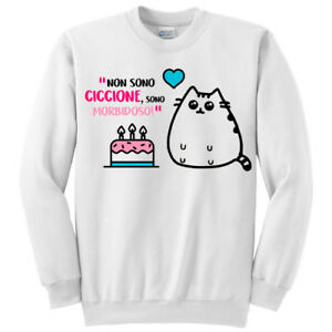 Tazza Non sono ciccione sono morbidoso rosa Gatto grasso kawaii