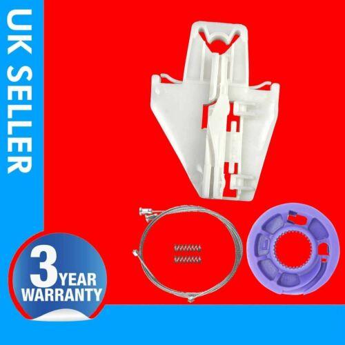 Per VW Polo 9N Kit Riparazione Regolatore Finestrino Posteriore Sinistro